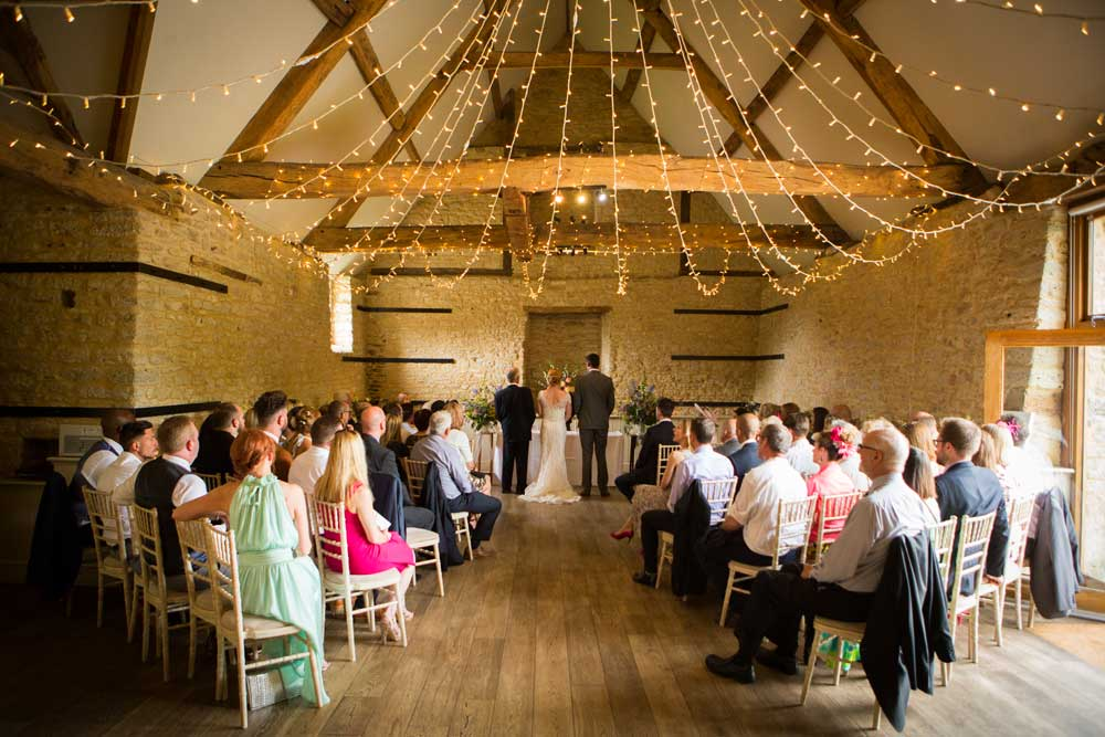 This is Wick Farm near Bath with our fairy-light canopy. We call this a Star Burst.