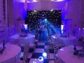 Kilver Court Ballroom in Shepton Mallet with a Winter Wonderland Theme