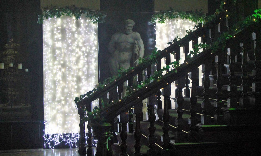 Image of Light Curtains and Bannister lighting