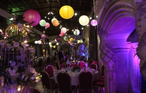 Image of Ashton Court Mansin on Bristol with decoration adn themeing by Stylish Entertainment