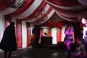 Image of a circus themed party