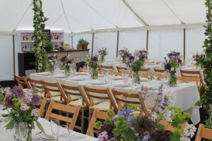 IUmage of a white traditional marquee interior