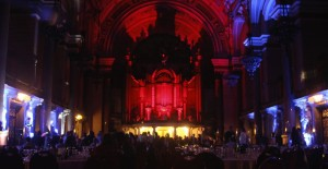 St Georges Hall Liverppol Party Lighting Hire