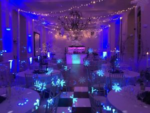 Winter Wonderland themed corporate party